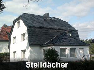 Steildächer decken – Dachdeckermeister Bohne in Berlin